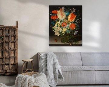 Stilleben mit Tulpen, Peter Binoit