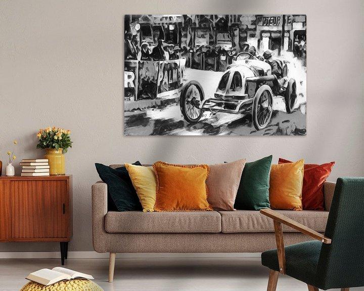 Beispiel: Motor Racing in the 1920-ties von Jean-Louis Glineur alias DeVerviers