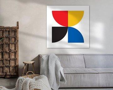 Inspiré par le Bauhaus sur Harry Hadders