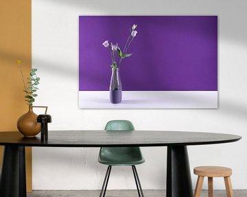 modernes Stilleben violett von Anita Visschers