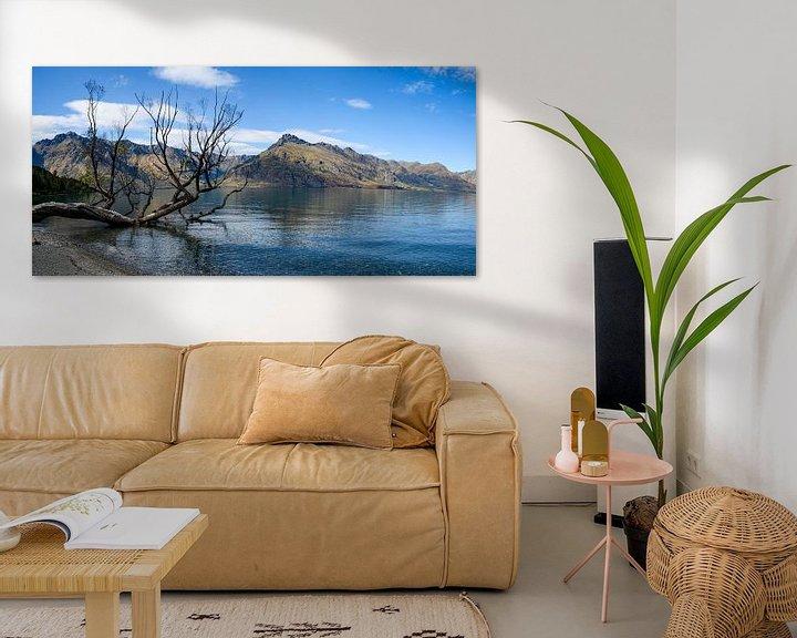 Sfeerimpressie: Lake Wakatipu van Ton de Koning