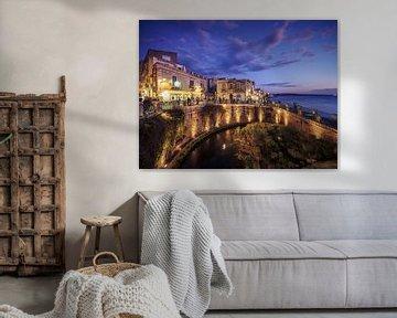 Syrakus - Ortigia / Fonte Aretusa (Sizilien, Italien) von Alexander Voss