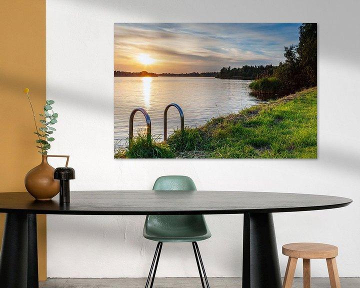 Impression: Sunset Paterswoldsemeer Groningen sur Evert Jan Luchies