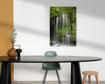 Wasserfall im Elbsandsteingebirge