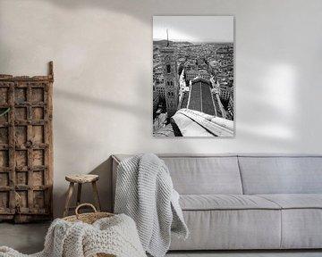 Blick vom Dom in Florenz von Chantal Koster