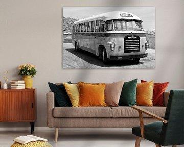 Oldtimer Bus von Angelika Stern