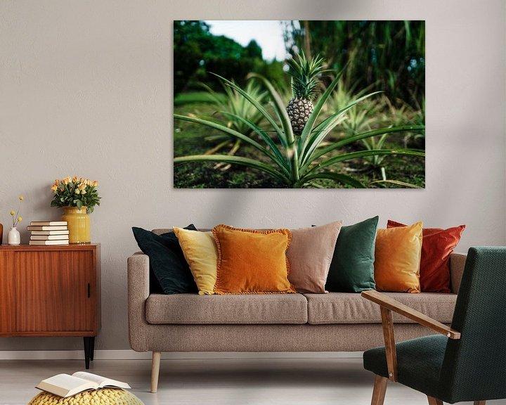 Sfeerimpressie: Hawaï-ananas van road to aloha