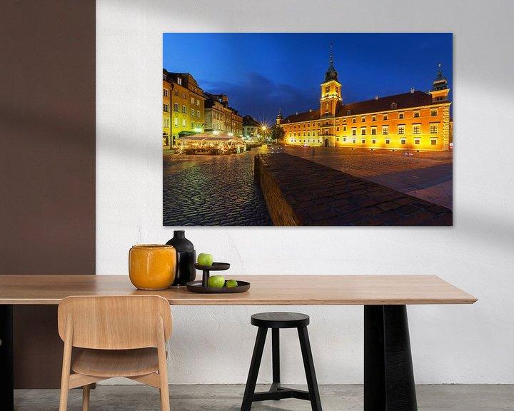 Impression: Château de Varsovie et place du château sur Frank Herrmann