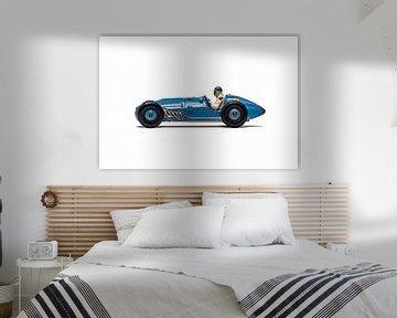 Talbot Lago speelgoed auto van Maurice Volmeyer