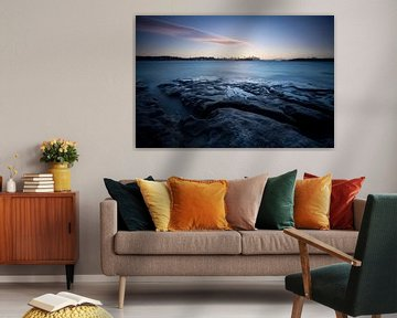 Sydney Panorama zur Blauen Stunde von Jiri Viehmann