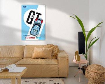 GT40 Ken Miles von Theodor Decker