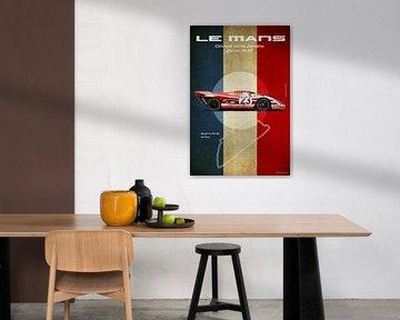 Le Mans Vintage 917 Salzburg von Theodor Decker