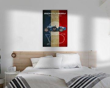 Montlhery Vintage Bugatti van Theodor Decker