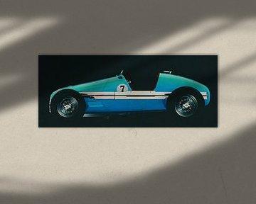 Gordini T16 Grand Prix 1952 zijaanzicht