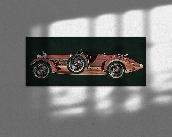 Beispiel: Hispano Suiza H6 Tulipwood 1924 von Jan Keteleer