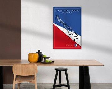 Racetrack Le Castellet von Theodor Decker