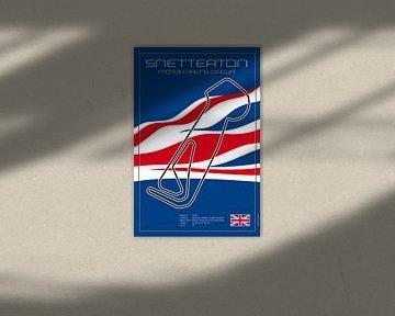 Racetrack Snetterton von Theodor Decker