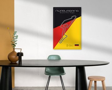 Racetrack Nürburgring von Theodor Decker