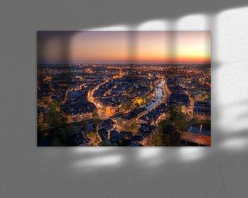 Zwolle centrum in de nacht