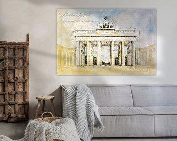 Brandenburger Tor, Berlijn van Theodor Decker