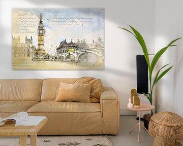 Big Ben, Londen van Theodor Decker