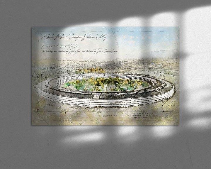 Beispiel: Apple Park, Cupertino von Theodor Decker