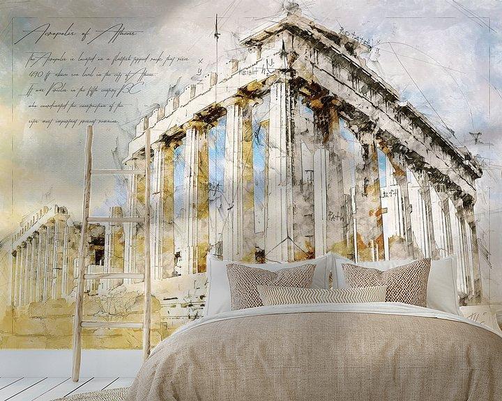 Beispiel fototapete: Akropolis, Athen von Theodor Decker