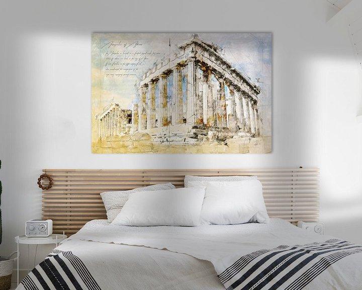 Beispiel: Akropolis, Athen von Theodor Decker