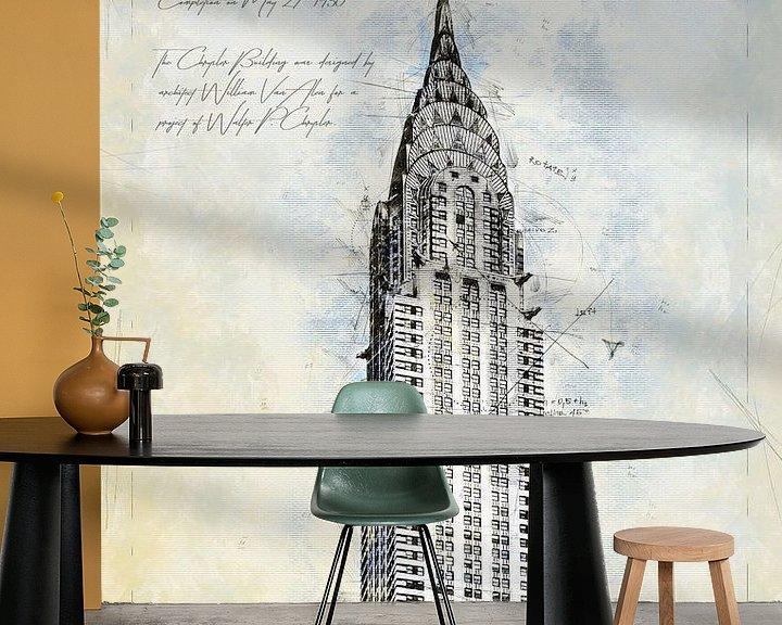 Beispiel fototapete: Chrysler Building, New York von Theodor Decker
