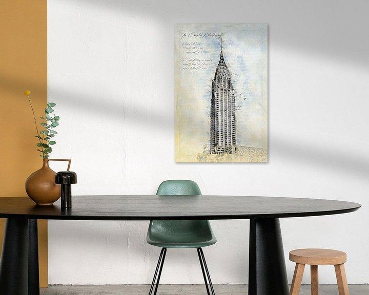 Beispiel: Chrysler Building, New York von Theodor Decker