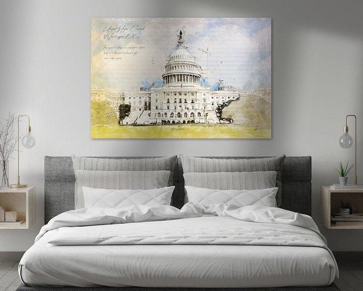 Beispiel: Capitol, Washington DC, USA von Theodor Decker