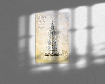Burj Khalifa, Dubai von Theodor Decker