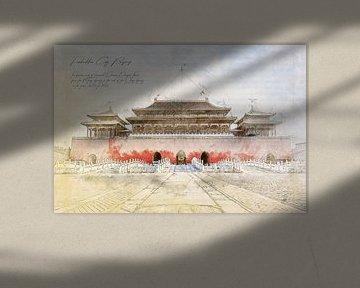 Verboden Stad, Peking van Theodor Decker