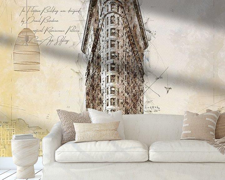 Beispiel fototapete: Flat Iron Building, New York von Theodor Decker