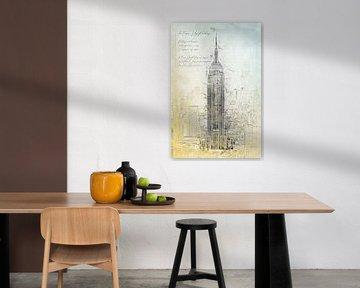 Empire State Building, New York van Theodor Decker