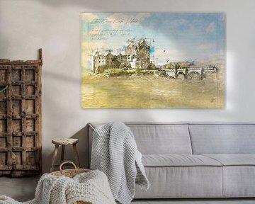 Eilean Donan Castle, Schotland van Theodor Decker