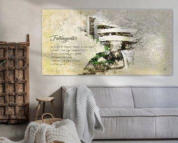 Fallingwater, Frank Lloyd Wright, landschap van Theodor Decker