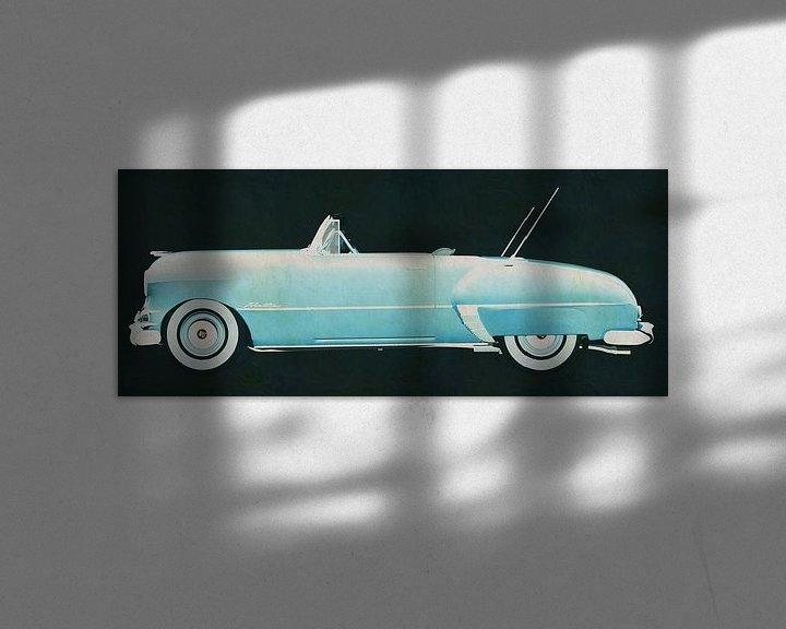 Sfeerimpressie: Pontiac Chieftain 1950 van Jan Keteleer