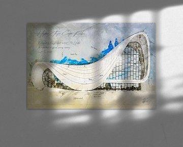 Heydar Aliyev Centrum, Bakoe van Theodor Decker