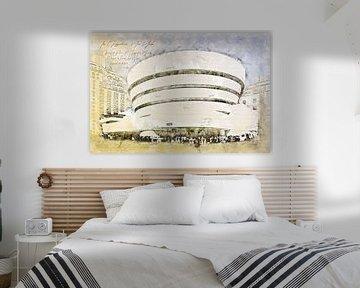 Guggenheim Museum, New York van Theodor Decker