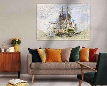 Sagrada Familia, Barcelona van Theodor Decker