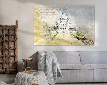 Sacré-Cœur de Montmartre, Parijs van Theodor Decker