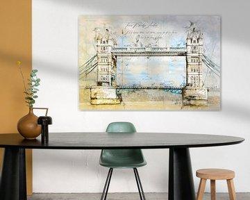 Torenbrug, Londen van Theodor Decker