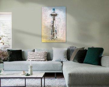 Ruimtevaartnaald, Seattle van Theodor Decker