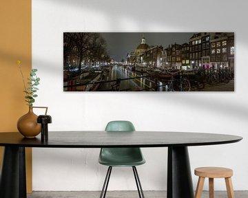 Amsterdam Singel-Kanal von Angel Flores