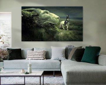 Centaure à la tête d'un lion sur Atelier Liesjes