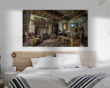Verlassenes Wohnzimmer eines Hauses von Atelier Liesjes