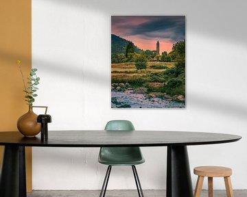 Glendalough, Wicklow Mountains, Ierland van Henk Meijer Photography