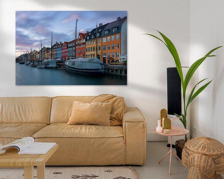 Sfeerimpressie: de haven van Kopenhagen van Robin van Maanen