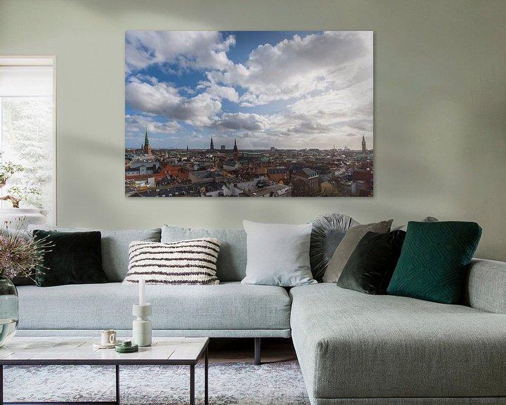 Impression: Le ciel de Copenhague en été sur Robin van Maanen